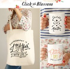 Click and Blossom – Photographer Gifts (Giveaway) - I Heart Faces Photography Accessories, Photography Gear, Photo Accessories, Photography Business, Photographer Gifts, Gifts For Photographers, Menu Brunch, Orange Pressée, Unique Gifts