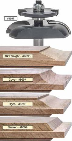 MLCS Raised Panel Router Bits with Undercutter