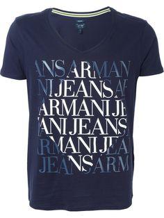 Armani Jeans, My T Shirt, Graphic Tees, Shirt Designs, Printing, Mens Tops, Shirts, Color, Fashion