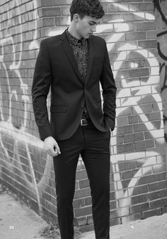 Model Alessio Pozzi For Ay Not Dead Campaign 2016/NowHeIsGotYou #AY Handsome Gentle Men's Apparel Trends Men's Clothing Fashion Style Suits Shoes Dapper Men's Accessories Ties Shoes