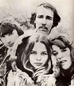 Mamas  Papas, John Phillips, Michelle Phillips, Cass Elliot and Denny Doherty