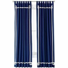 Elizabeth canvas curtain - happy chic