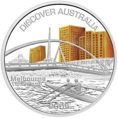 Discover Australia 2006 Melbourne 1oz Silver Coin