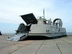 x3 Lebed Class Amphibious Assault Hovercraft - The ones used in the Soviet Invasion of Iceland in the book.