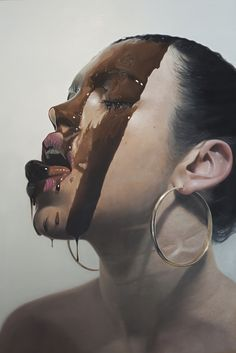 Mike Dargas, Blackened, 2015, Oil on canvas, 180 x 140 cm