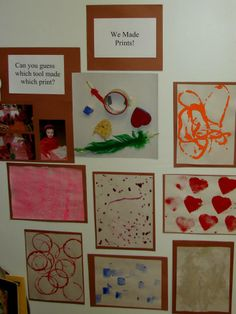 exemplificar... Art Center Preschool, Fall Preschool, Preschool Classroom, Art Classroom, School Displays, Class Displays, Reggio Inspired Classrooms, Creative Area, Classroom Art Projects