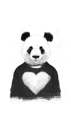 Beau Shop Lovely Panda Wood Wall Art Created By Bsolti. Personalize It With  Photos U0026 Text Or Purchase As Is!