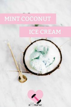Clean Eating Mint #IceCream