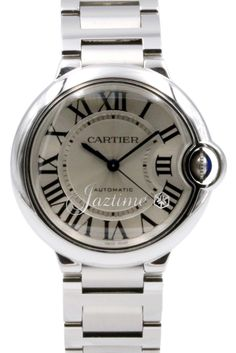 0743180fd55 Cartier W6920046 Ballon Bleu Midsize Stainless Steel Automatic 3284 BOX  PAPERS Stainless Steel Bracelet