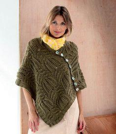 free pattern in Danish Knit Crochet, Crochet Hats, Knitting For Charity, Poncho Shawl, Fashion Today, Free Pattern, Knitting Patterns, Cool Style, Sweaters For Women