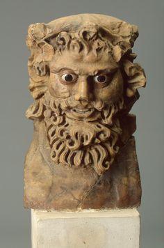 ...Herma of Pan  Ancient Rome, 1st century