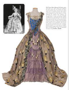 "Costume designed by George James Hopkins for Theda Bara in ""Madame Du Barry"" (1917)."