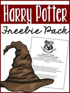 Hi friends, Included in this Harry Potter Freebie pack you will find: Editable Hogwarts Acceptance L École Harry Potter, Harry Potter Classes, Harry Potter Activities, Classe Harry Potter, Harry Potter Classroom, Harry Potter Birthday, Harry Potter Letter, Harry Potter Printables, Classroom Themes