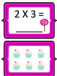 Equations and visual arrays. Memory Games, Mathematics, Nintendo Wii, Memories, Sweet, Math, Memoirs, Candy, Souvenirs