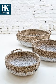 ♂ eco-friendly home deco natural style living Sisal, Nature Color Palette, Basket Bag, Coastal Style, Basket Weaving, Woven Baskets, Seagrass Baskets, Painted Baskets, Home Accessories