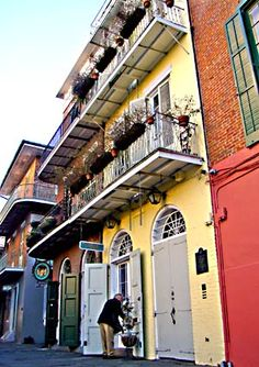 New Orleans -- Faulkner's house.  Where I will make my pilgrimage.