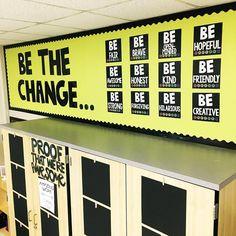 Be the Change Bulletin Board | Texas Lone Star Teacher
