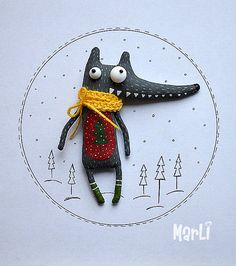 little wolf by MarLitoys on Etsy