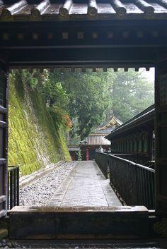 Taiyuin-byo Shrine, Nikko, Japan