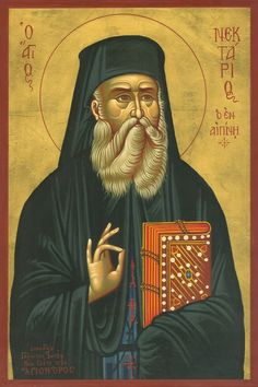 Happiness is a pure heart, for such a heart becomes the throne of God. + St Nektarios of Aegina. Byzantine Icons, Byzantine Art, Religious Icons, Religious Art, Orthodox Catholic, Paint Icon, Christian Prayers, Orthodox Icons, Medieval Art
