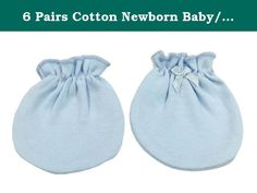 6 Pairs Cotton Newborn Baby/infant No Scratch Mittens Gloves - Solid Blue. We imports baby products from a professional manufacturer of baby products, our manufacturer is very strict with fabric selecting, dyeing, production, washing, ironing, packing, High-temperature sterilization and warehousing. They focus on developing baby products since 2009, only baby mittens their supply ability is 100000 pairs per month. They export hundred thousand baby products over the world. That is a...
