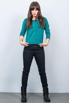King Louie Lapis Cardi Petrol King Louie, Pants, Style, Fashion, Trouser Pants, Swag, Moda, Fashion Styles, Women Pants