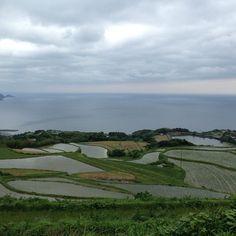 海と棚田だ #30jidori @ 東後畑棚田 instagram.com/p/aU3Dq7mary/
