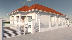 Proiect casa rezidentiala Corbeanca 3 – Profile Decorative Village House Design, Village Houses, Building A Shed, Design Case, House Plans, Garage Doors, Outdoor Decor, Home Decor, South Africa