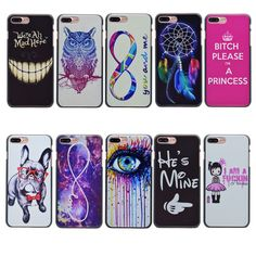 """New Arrival Black Phone Cases For Apple iPhone 7 Plus 5.5"""" Case Back Cover For iPhone7Plus iPhone 7Plus"""