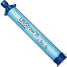 LifeStraw personal water filter: Lightweight and easy to pack for hiking, backpacking, camping, or international travel in case you need clean safe water in the outdoors.