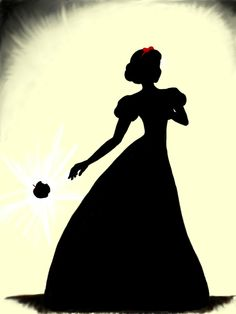 prince eric and ariel silhouette Google Search disney