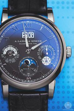 "watchanish: "" Now on WatchAnish.com - The new A. Lange & Sohne Langematik Perpetual Calendar """