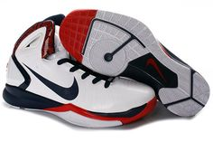 947961845791 Nike Hyperdunk 2010 White Navy Blue Red