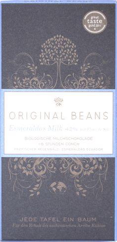Original Beans Esmeraldas Milk 42% Milchschokolade