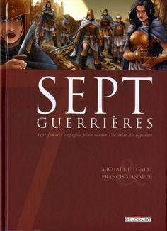 Couverture Sept, saison 1, tome 5 : Sept guerrières