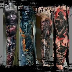 Featured Tattoo Artist: Laky Tattoo's - http://sicktattoos.org/featured-tattoo-artist-laky-tattoos/