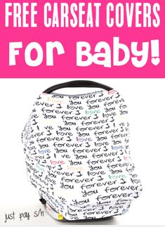 Baby Freebies By Mail! These Carseat Covers are the CUTEST way to keep babies cozy and snuggly, while keeping the sun out of their eyes!  You can even grab an extra one to stash away as a fun Baby Shower gift!  Have you gotten yours yet?? Freebies By Mail, Baby Freebies, Free Stuff By Mail, Free Baby Stuff, Best Baby Shower Gifts, Newborn Care, Frugal Living, Baby Fever, Car Seats