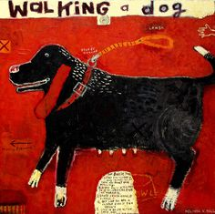 Melinda K. Hall:Walking a Dog