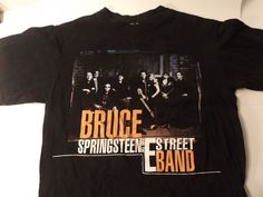 Bruce Springsteen and The E Street Band 2008 Tour T Shirt | eBay