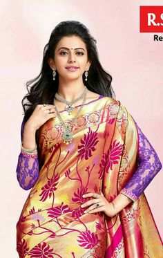 Rakul Preet Singh Beautiful Girl In India, Beautiful Saree, Beautiful Bollywood Actress, Most Beautiful Indian Actress, Beautiful Actresses, Curvy Girl Lingerie, Indian Beauty Saree, Indian Sarees, Elegant Saree