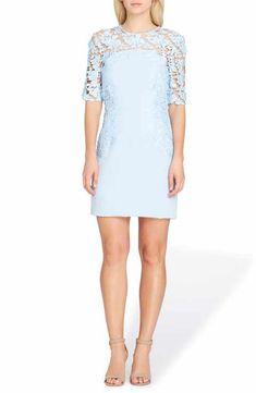f0dfe2784 Tahari Lace Sheath Dress Vestidos Nordstrom, Vestidos Casuais, Vestido  Bainha De Renda, Revestimento