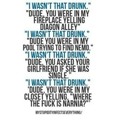 Drunk jokes wow