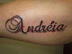 Amazing Andreia Name Tattoo Designs!!