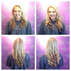 Look what a difference 15 Hothead Extensions can make!  Stylist, Megan Farmer. #freshairsalon #freshairstylist #hotheads #fayettevillear #hairextensions @hotheadshairextensions @meganfarmer409