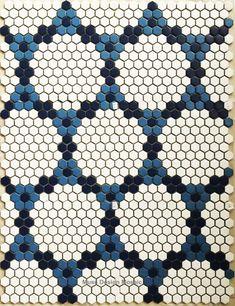 Online Shop Nordic White Blue Hexagon Puzzle Art Ceramic Mosaic Tile for Bars Salon Swimming Pool Floor Tile Wall Tile Medallion Hexagon Mosaic Tile, Ceramic Mosaic Tile, Hex Tile, Cement Tiles, Bathroom Floor Tiles, Wall Tiles, Tile Floor, Penny Tile, Black And White Tiles