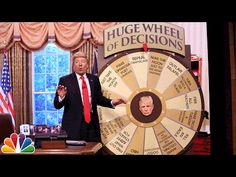 Donald Trump Unveils His Huge Wheel of Decisions