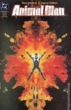 Animal Man (1988) 50 DC Comics Book cover art super heroes villians