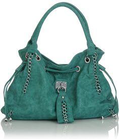 8d4838844106 Turquoise Oversized   Ripley   Satchel Handbag