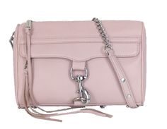 Need that perfect spring bag? This blush Rebecca Minkoff clutch is a perfect option.
