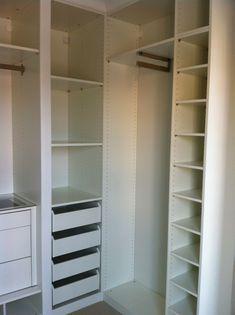 ikea built in closet hack
